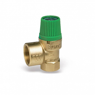 Diaphragm safety valve for solar systems SVE-SOL