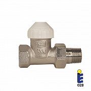 Nickel-plated thermostatic valve 131SN
