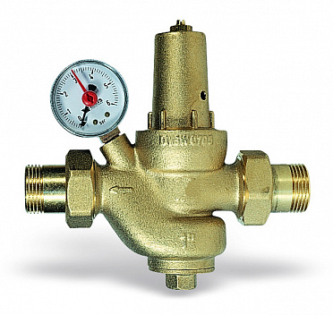 Diaphragm pressure reducing valve DRVM