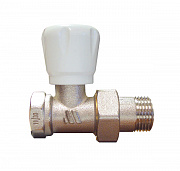 manual radiator valve straight female 164R
