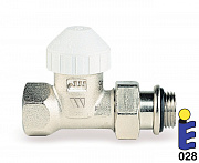 Nickel-plated thermostatic valve 131UM