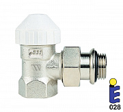 Nickel-plated thermostatic valve 130UM
