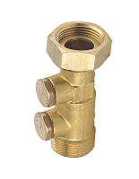 Check-valve W.F. brass plugs