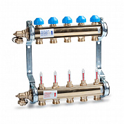 Heating manifold HKV T with flow meters for Underfloor