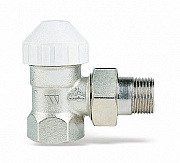Nickel-plated thermostatic valve 130SN 1""