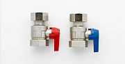 UK ONLY - Nickle Plated Ball Valve Sets (Pair)